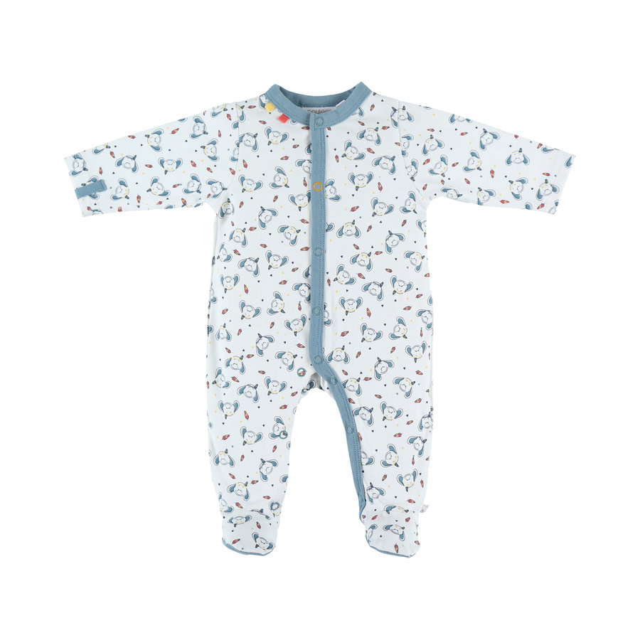 Chlapecké jednodílné pyžamo Noukie's Jersey graphic