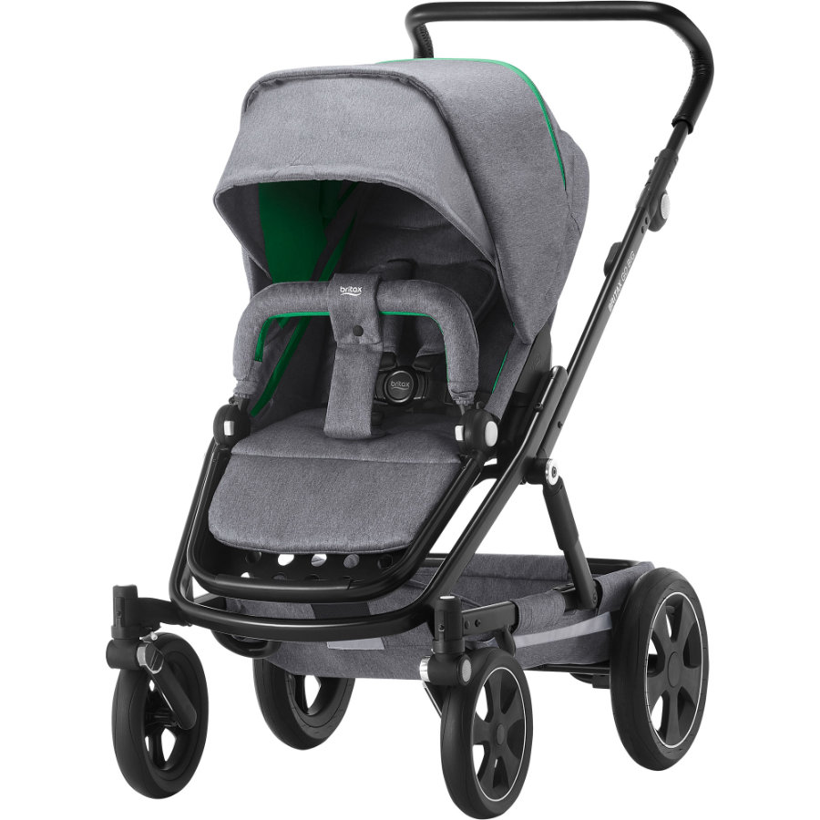 Britax Kinderwagen Go Big² Dynamic Grey Gestellfarbe Black