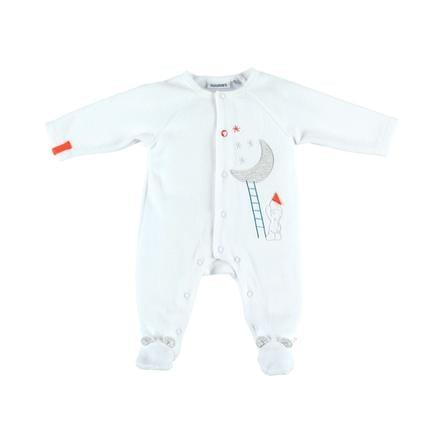 noukie Boys 's Pajamas 1-delig Peps wit