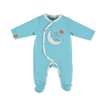 noukie Boys 's Pajama's 1-delige Peps turkoois Peps-Peps