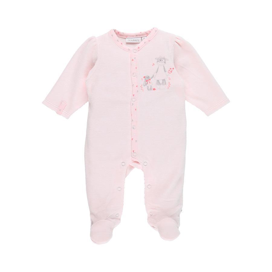 noukie Girl 's Pajamas 1 pc Inteligentny różowy