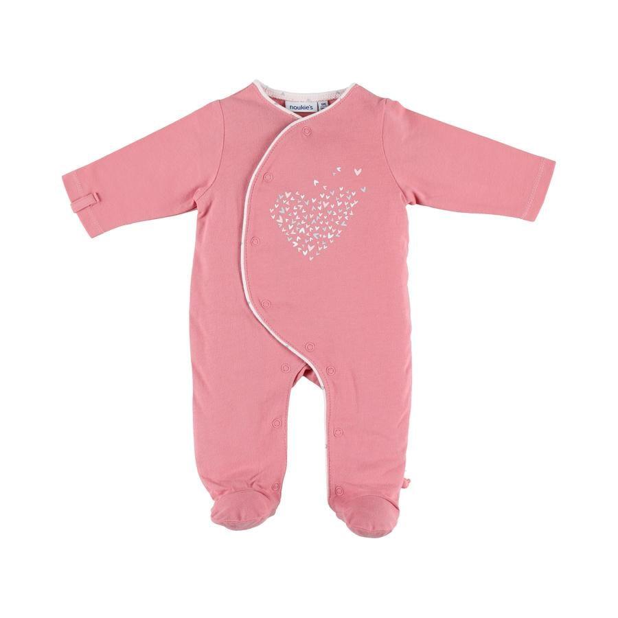 Noukie's Girls pyžamo 1 ks žerzej smart pink