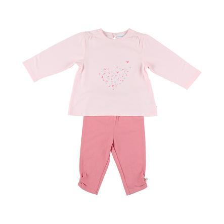 noukie Girl 's pyjama 2 stuks jersey lange roos met 2 stuks