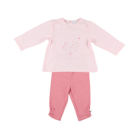 noukie´s Girls Schlafanzug 2 tlg. Jersey long rose