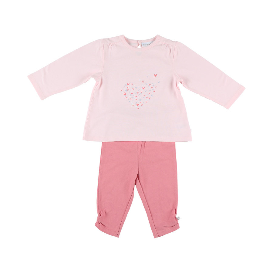 nGirl oukie´s s pyjama 2 pcs. jersey long rose