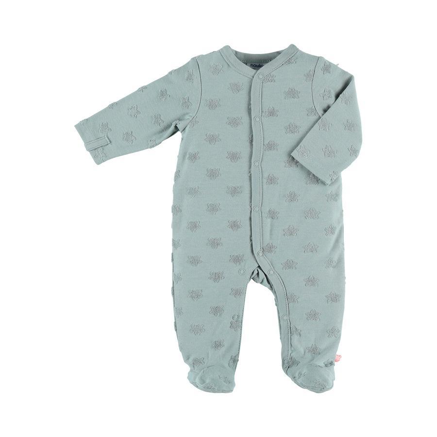 Noukie's Jersey Pyjamas Stars aqua