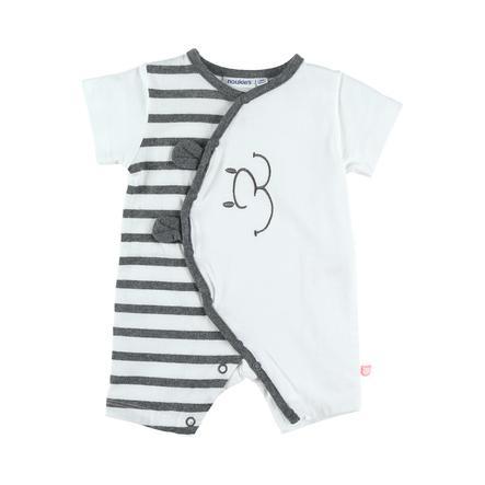 noukie´s Boys Jersey Schlafanzug Stars white