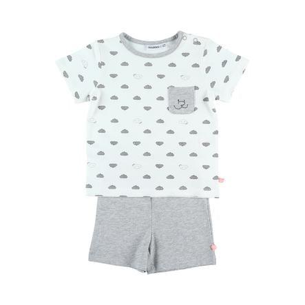 noukie´s Boys Schlafanzug 2 tlg. white