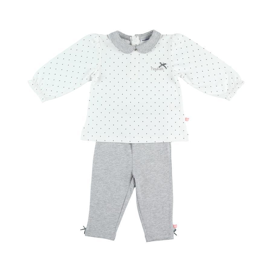 noukie´s Girls Schlafanzug 2 tlg. white
