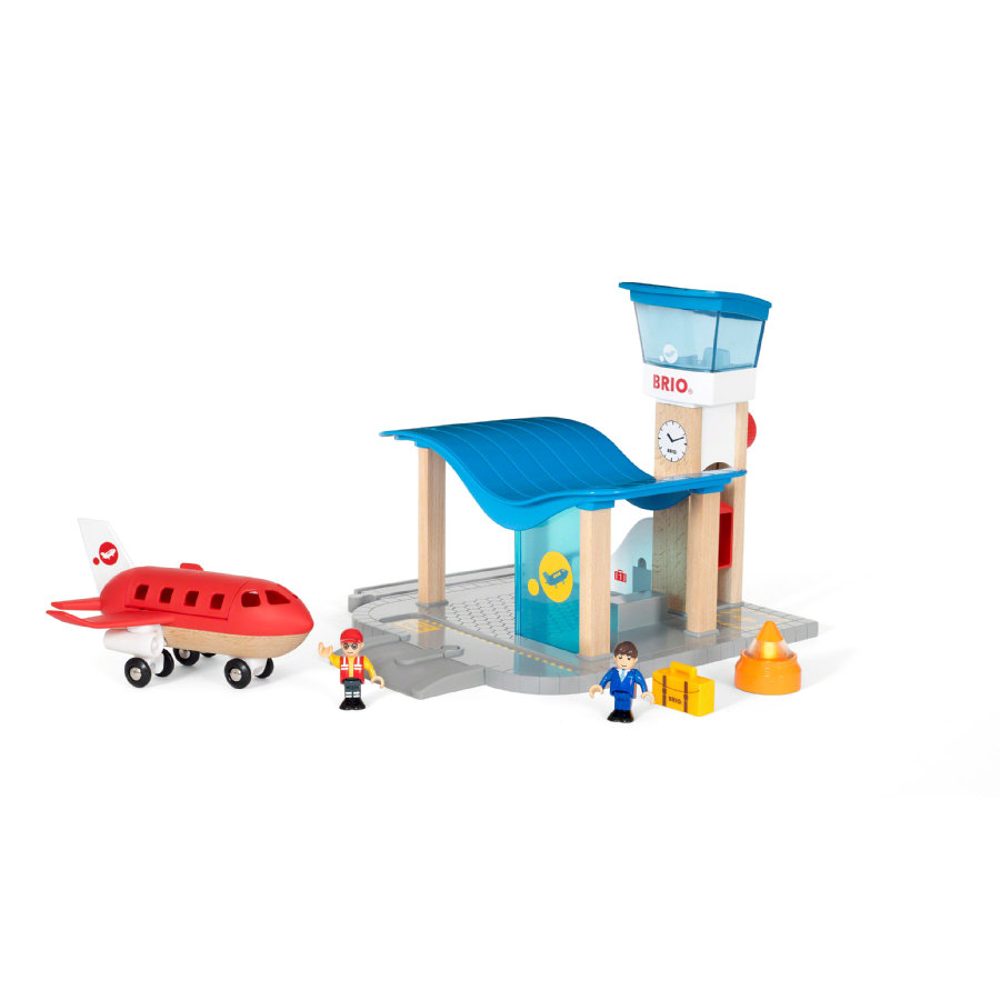 BRIO® WORLD Village Aeropuerto con torre