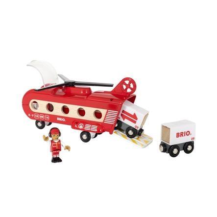 BRIO® WORLD Eisenbahn-Transporthubschrauber 33886