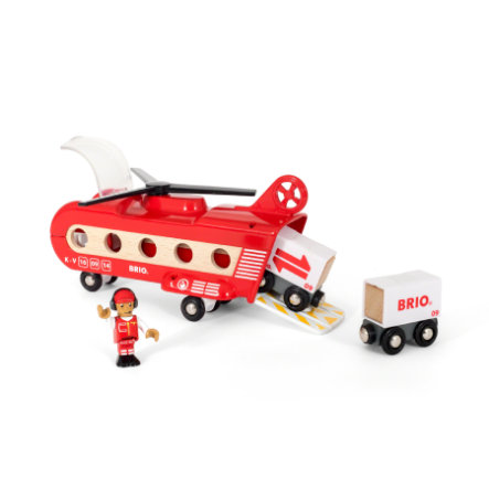BRIO® WORLD transporthelikopter  33886