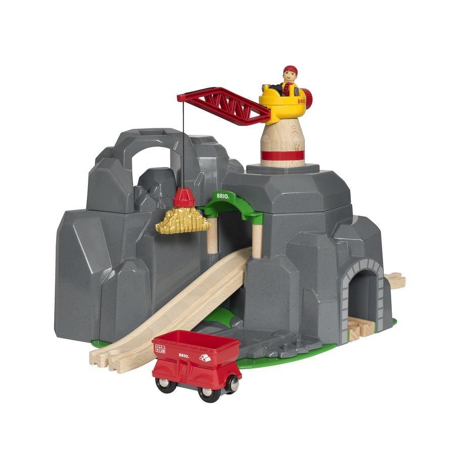 BRIO® WORLD Grande miniera d'oro con tunnel e suoni 33889