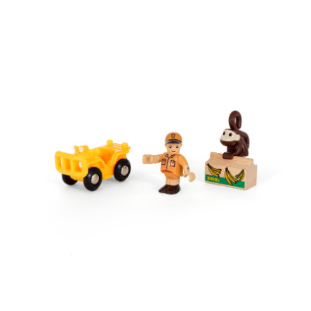 BRIO® WORLD Lekset med safaritema 33865