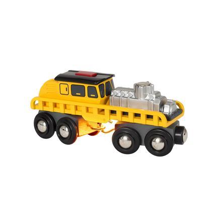 BRIO® WORLD Schienenreparatur-Fahrzeug 33897
