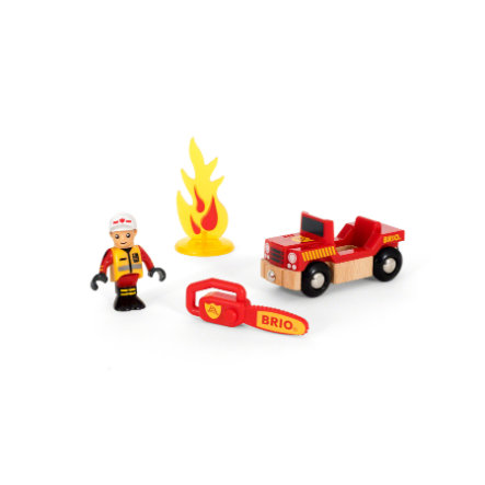 BRIO® WORLD Game set Pompiere 33876