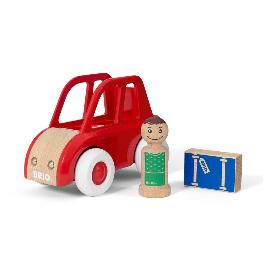 BRIO® My Home Town - Leksaksbil med bagage 30346