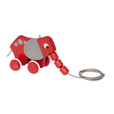 BRIO® Tahací slon 30186
