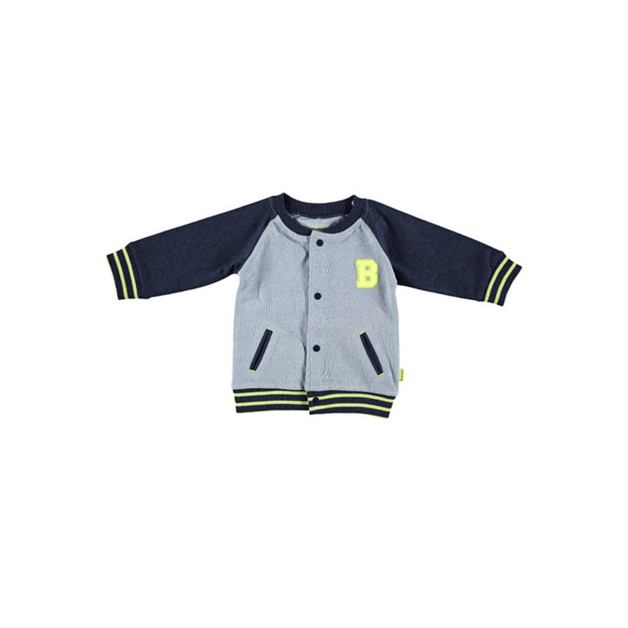 b.e.s.s Cardigan Baseball blue