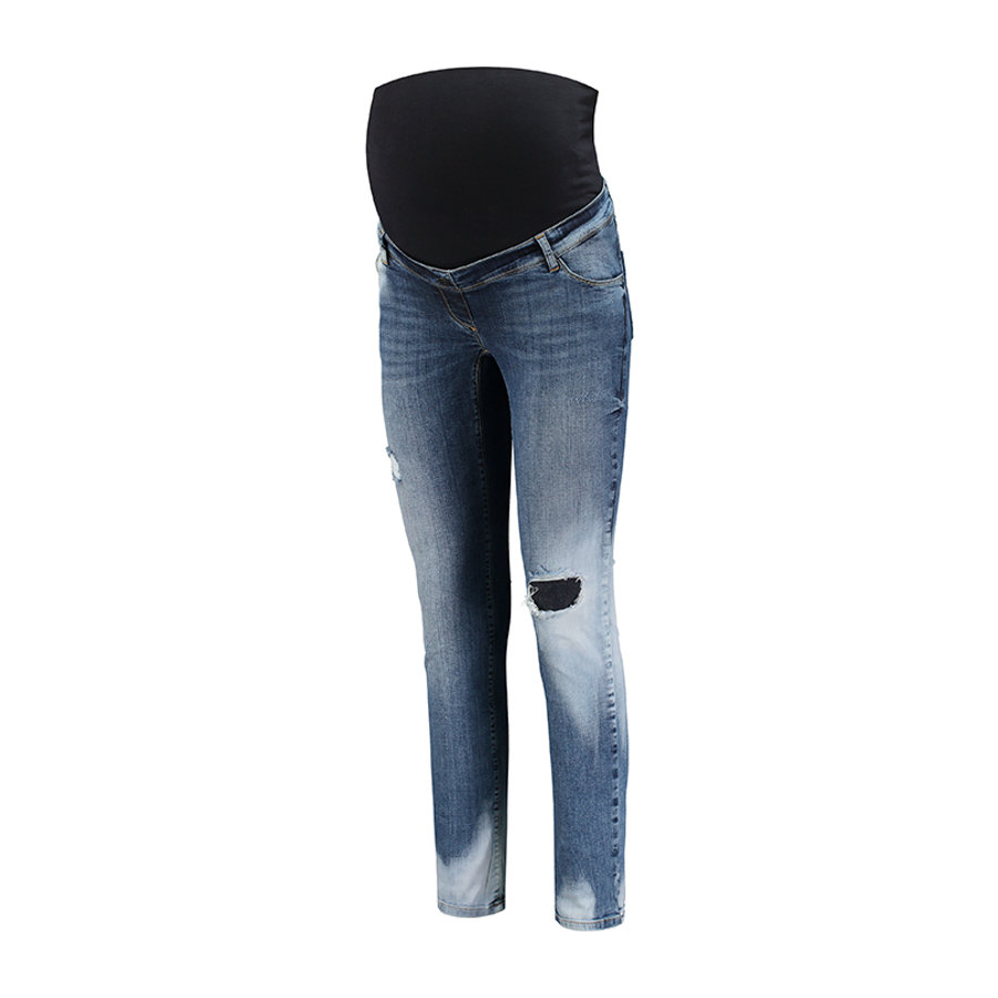 "LOVE2WAIT Umstandsjeans Sophia Star 30"" Stone Wash"