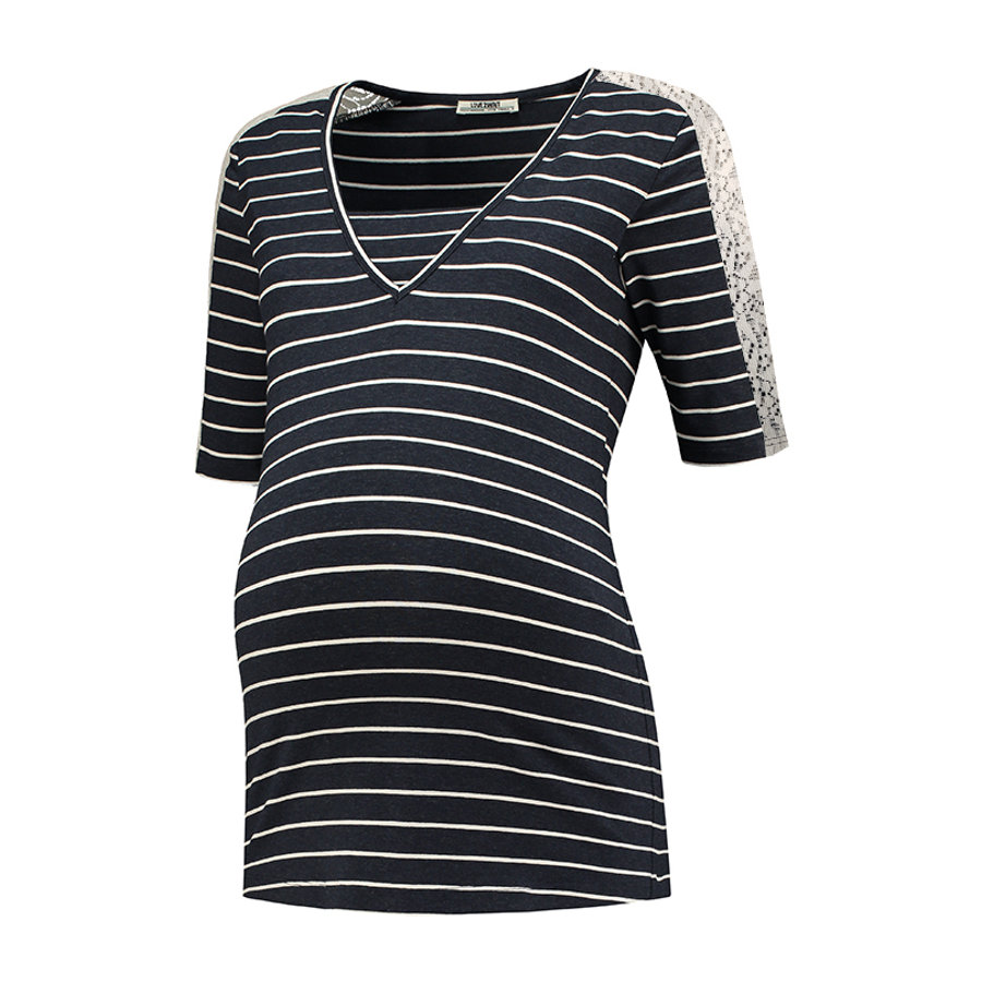 LOVE2WAIT Stillshirt Striped