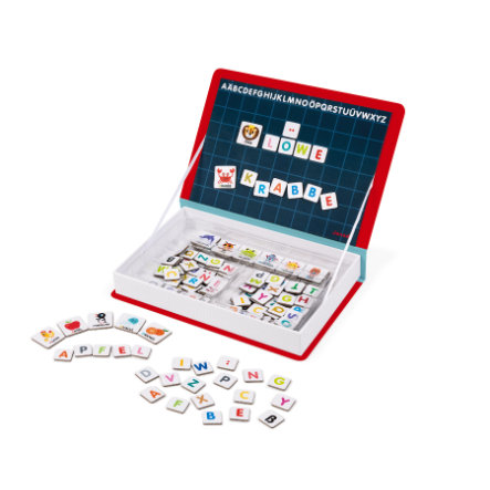 Janod® MagnetiBook - Alfabet