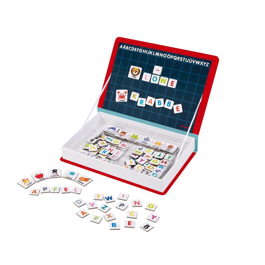 Janod® MagnetiBook Alphabet