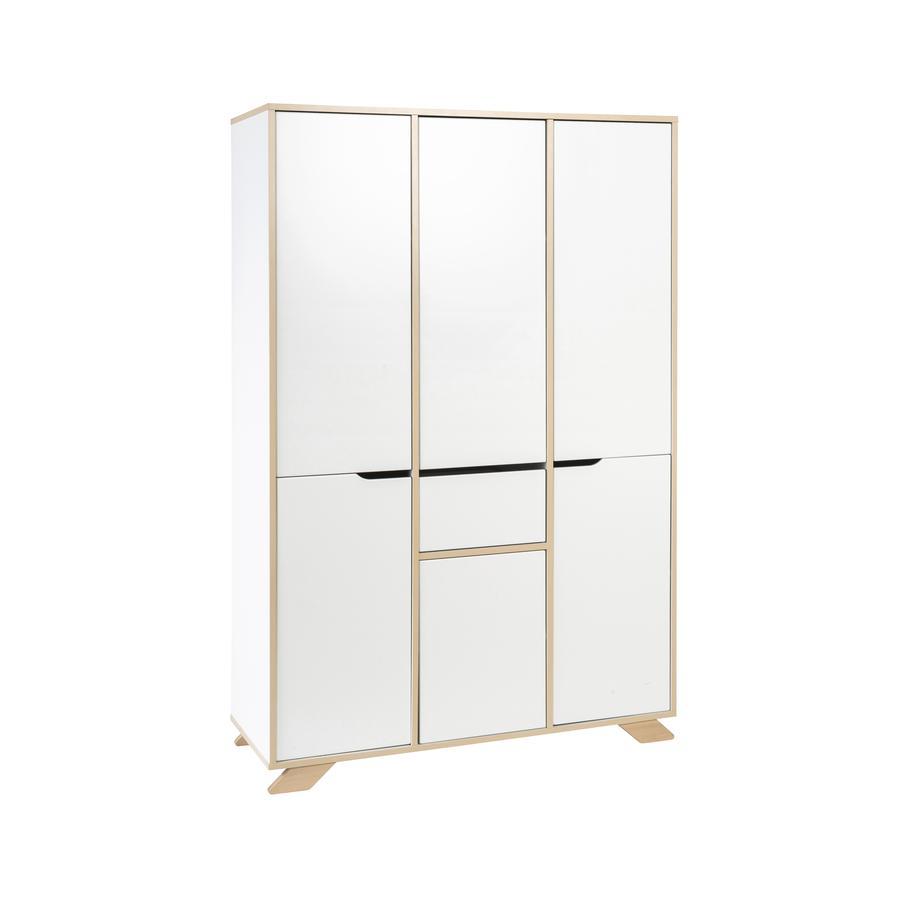 schardt armoire 6 portes tokio blanc. Black Bedroom Furniture Sets. Home Design Ideas