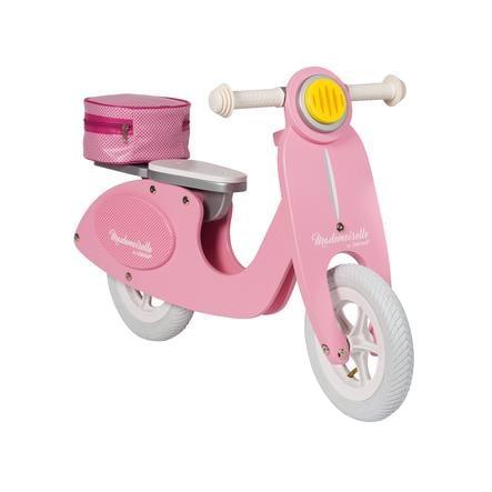 Janod® scooter Mademoiselle, løpesykkel av tre, stor