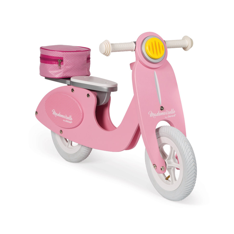 Janod® Draisienne scooter Mademoiselle bois, rose
