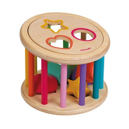 Janod® Plocklåda- Rulltrumma