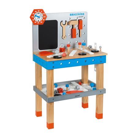 Janod Dřevěný pracovní stůl BricoKids 40 dílů
