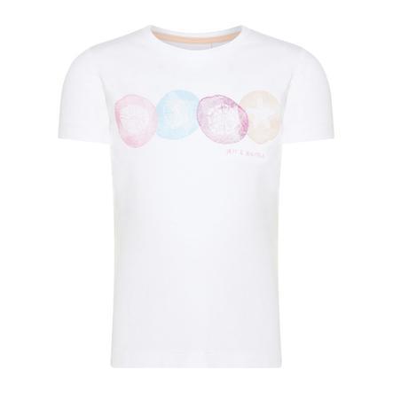 name it Girl s T-Shirt Nmfvix helder wit