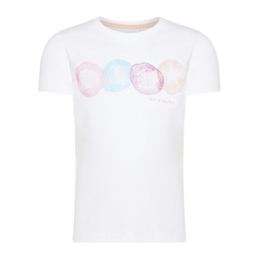 name it Girl s T-Shirt Nmfvix blanc vif