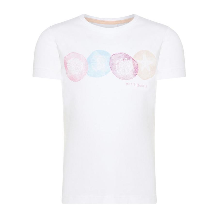 NAME IT Tyttöjen T-paita Nmfvix b oikean valkoinen