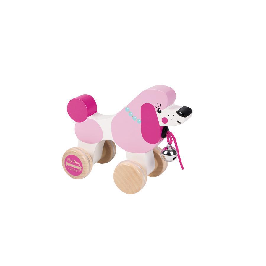 Janod® Zabawka do ciągnięcia - Pudel