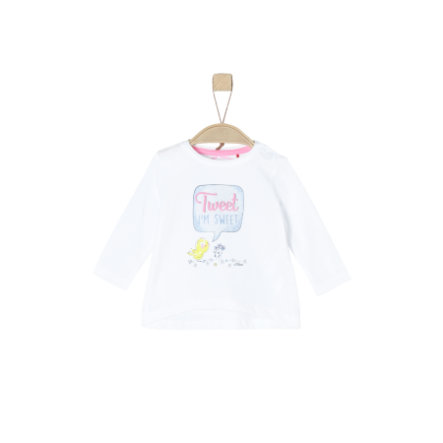 s.Oliver Girls Langarmshirt white