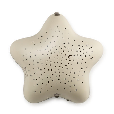 Pabobo Musical Star Projector Beige