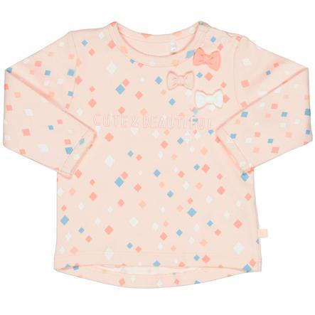 STACCATO Girls Langærmet shirt lyserød med sløjfer