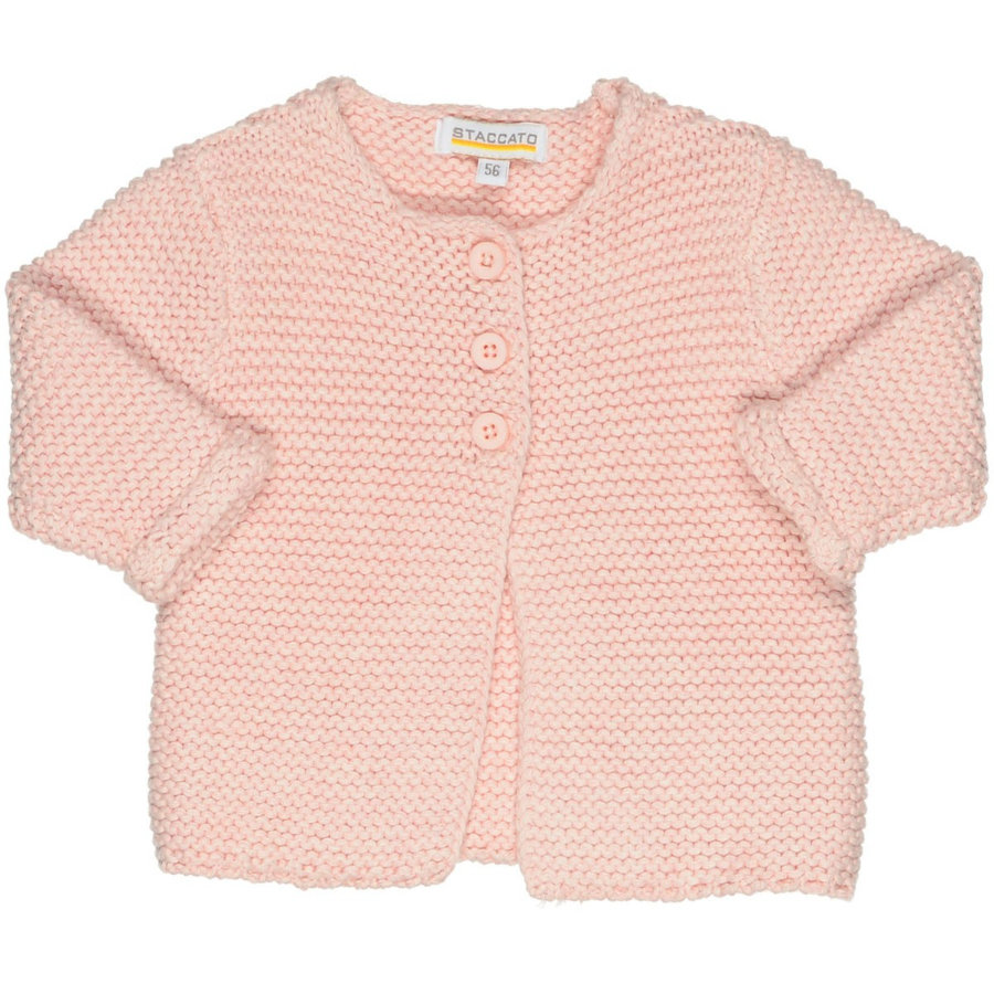STACCATO Girls Strickjacke rosa