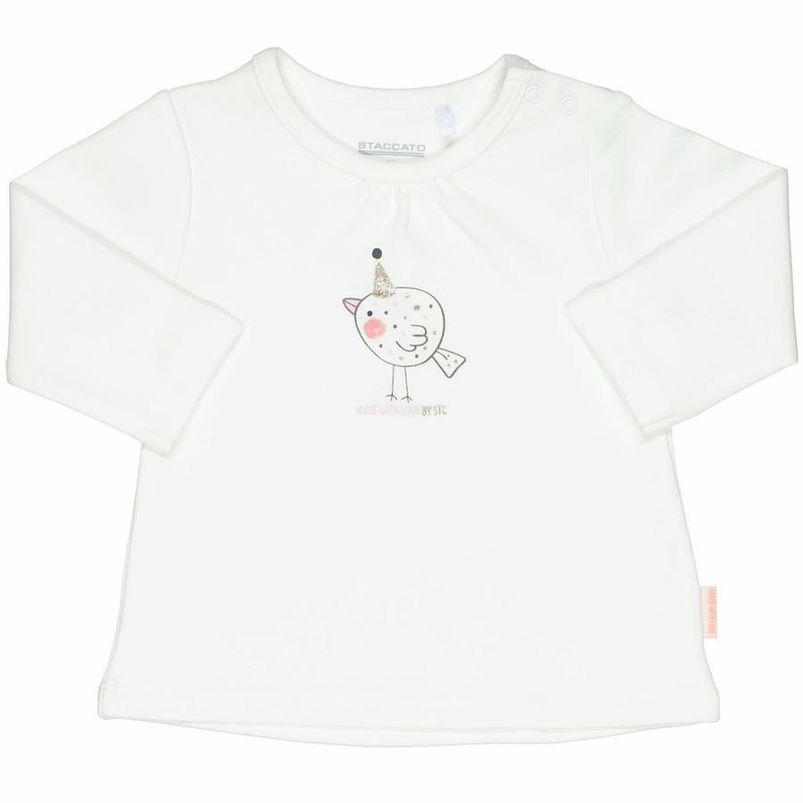 STACCATO Girl chemise à manches longues blanc cassé