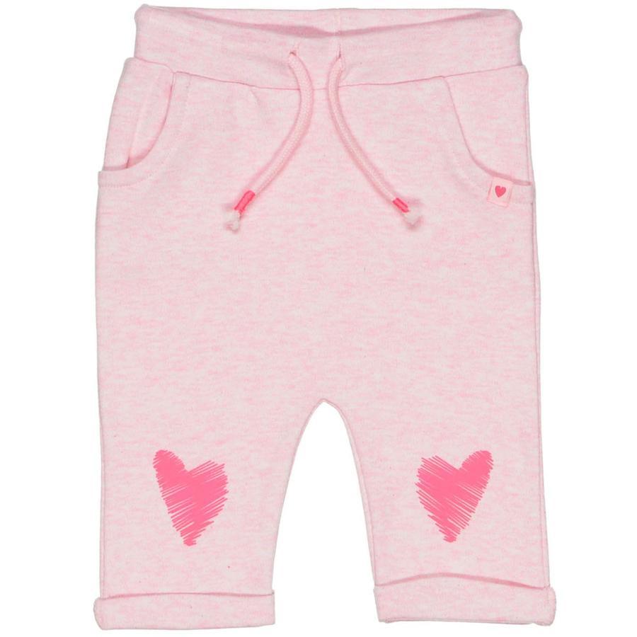 STACCATO Girl s Spodnie z serduszkami różowe