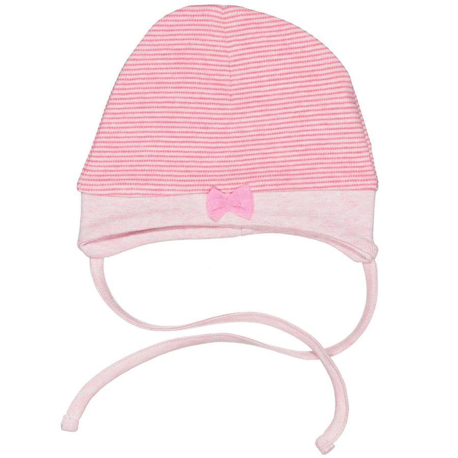 STACCATO Girls Mütze Streifen rosa