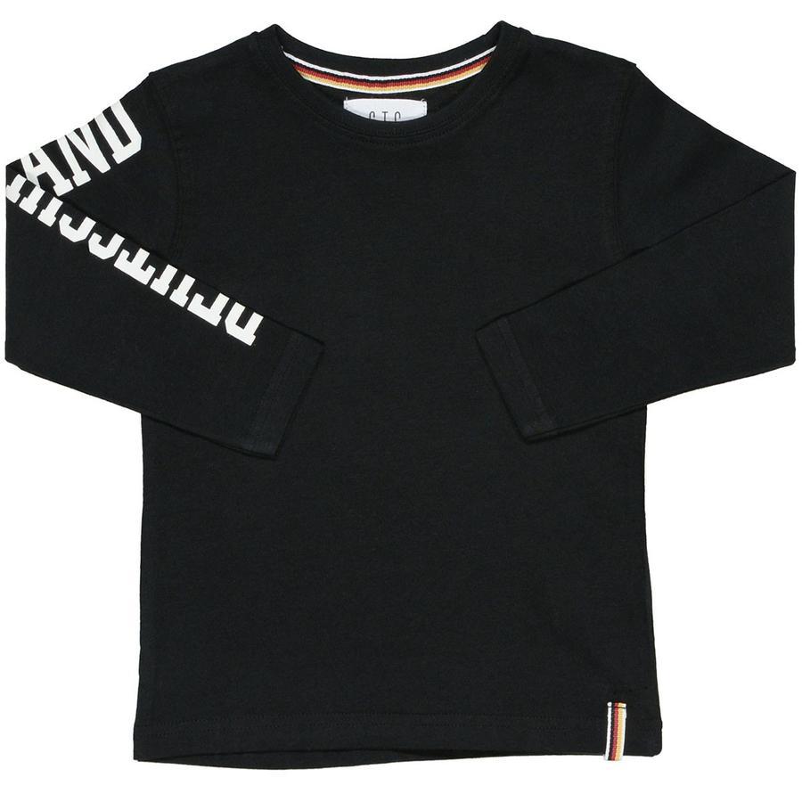 STACCATO Boys Langærmet trøje black
