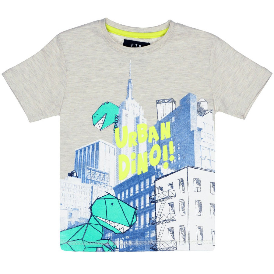 STACCATO Boys T-Shirt beżowy melange