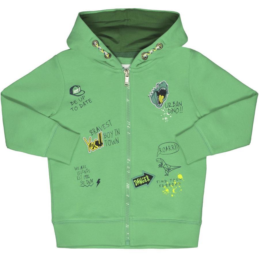 STACCATO Boys Sweatjacke mit Kapuze grün