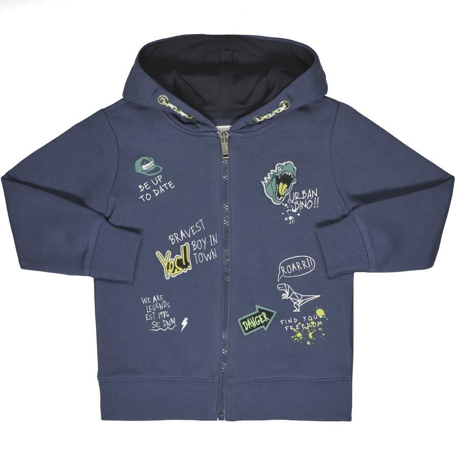 STACCATO Boys Sweat veste avec capuche bleu