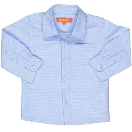 STACCATO Boys Hemd Streifen blau