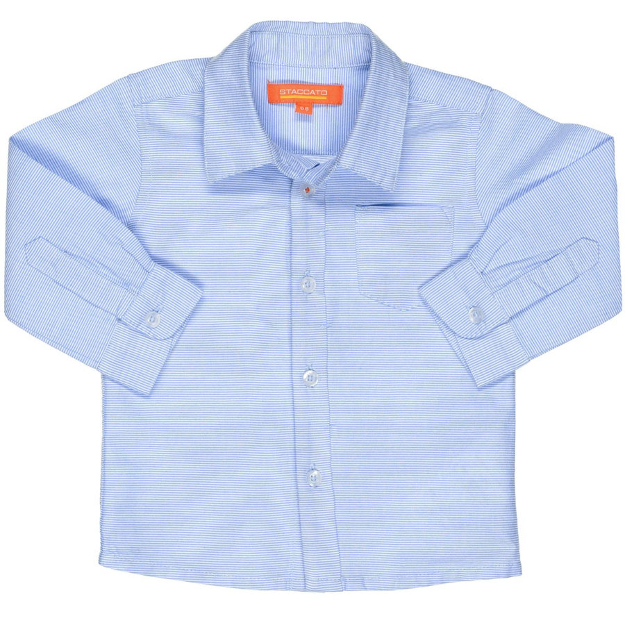 STACCATO Boys Shirt strepen blauw