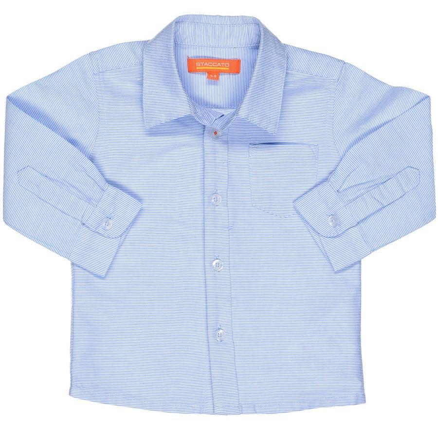 STACCATO Boys skjorte striber blå